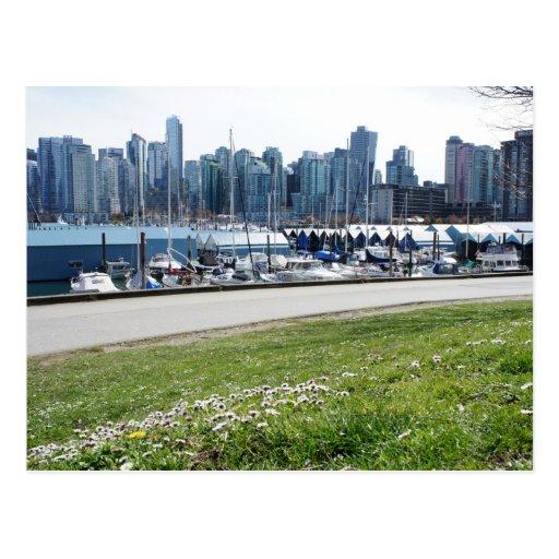 Parque de Vancouver Stanley Postales