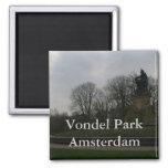 Parque de Vondel, Amsterdam Imán De Nevera