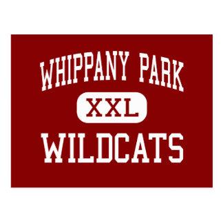 Parque de Whippany - gatos monteses - alto - Whipp Postales