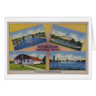 Parque de Wilson Tarjeta Pequeña
