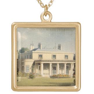 Parque de Wimbledon, R de R. Ackermann (1764-1834) Colgante Cuadrado
