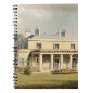 Parque de Wimbledon, R de R. Ackermann (1764-1834) Libretas