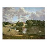 Parque de Wivenhoe, Essex, 1816 Postales