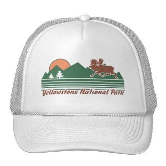 Parque de Yellowstone Gorras