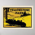 Parque de Yellowstone Posters