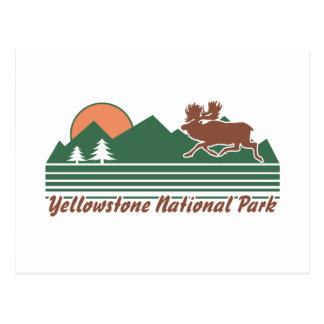 Parque de Yellowstone Tarjetas Postales