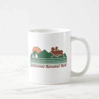 Parque de Yellowstone Taza Clásica