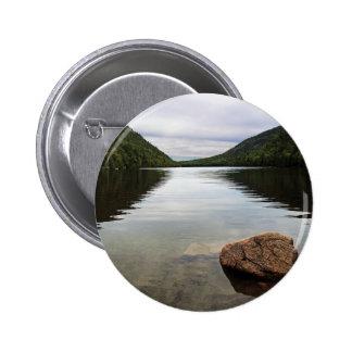 Parque del Acadia de la charca de la burbuja Pin Redondo De 2 Pulgadas