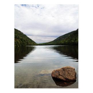 Parque del Acadia de la charca de la burbuja Tarjetas Postales