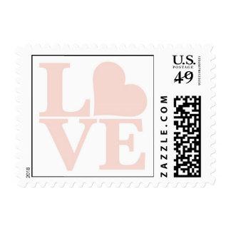 Parque del amor sello postal