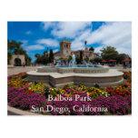 Parque del balboa, San Diego, California Postal