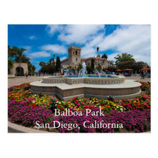 Parque del balboa, San Diego, California Tarjetas Postales