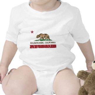parque del baldwin de la bandera de California ape Camisetas