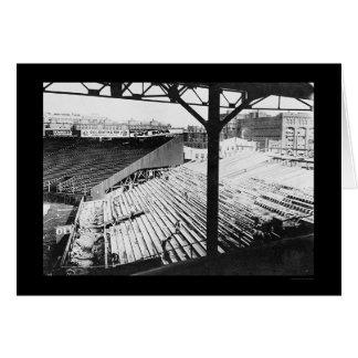 Parque del béisbol de Fenway en Boston, mA 1912 Tarjeta De Felicitación