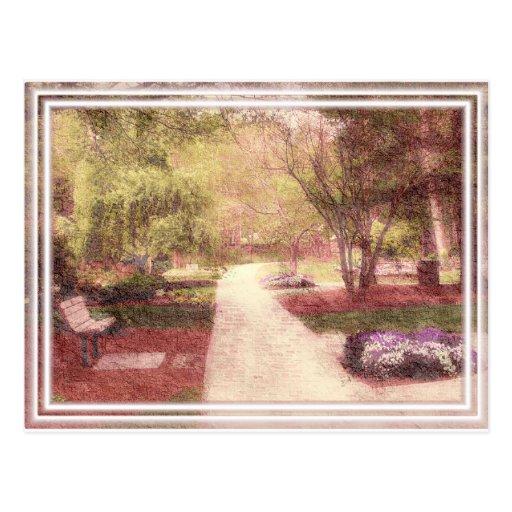 Parque del ~ de la postal perfecto