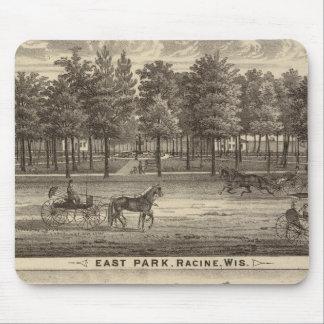 Parque del este, Racine y granja de Oakland Tapete De Ratón