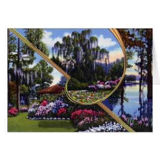 Parque del lago greenfield de Wilmington Carolina  Tarjeta De Felicitación