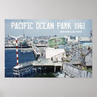 Parque del Océano Pacífico Póster