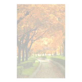 Parque del otoño papelería