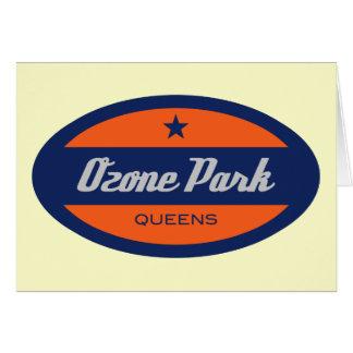 Parque del ozono tarjeta