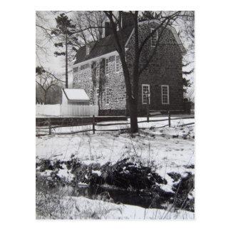 Parque en la nieve - 1989 de Graeme Postales