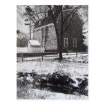 Parque en la nieve - 1989 de Graeme Tarjetas Postales