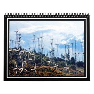 Parque eólico calendarios