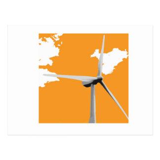 Parque eólico verde de Knowes Postales