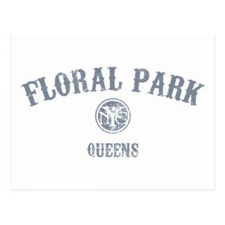 Parque floral postal