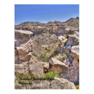 Parque geológico del Toadstool, Nebraska Postal