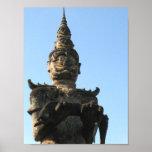 Parque gigante de Buda del demonio del Lao…, Vient Poster