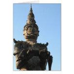 Parque gigante de Buda del demonio del Lao…, Vient Tarjetas