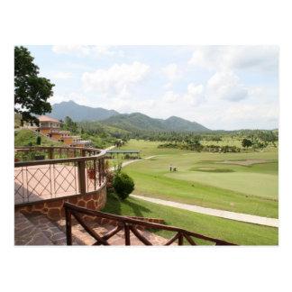 Parque golf y club de campo de San Juanico Postal