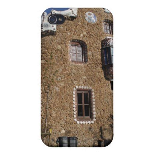 Parque Güell, Barcelona iPhone 4 Carcasa