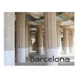Parque Güell, Barcelona Postal