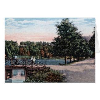 Parque Henderson Carolina del Norte del laurel Tarjeta De Felicitación