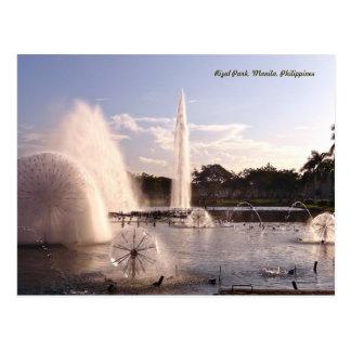 Parque hermoso de Rizal