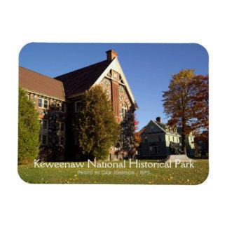 Parque histórico nacional de Keweenaw Imán De Vinilo
