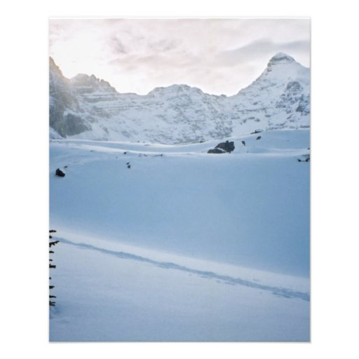 Parque Icefields Alberta Canadá de Parker Ridge Ba Tarjetas Publicitarias