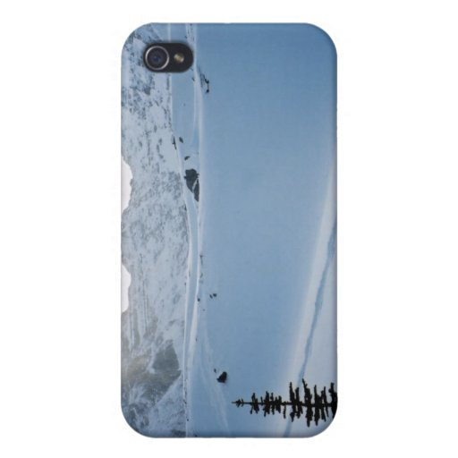 Parque Icefields Alberta Canadá de Parker Ridge Ba iPhone 4/4S Carcasa