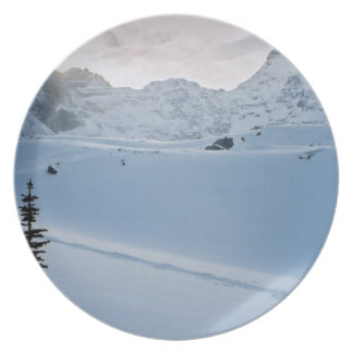 Parque Icefields Alberta Canadá de Parker Ridge Ba Plato De Comida