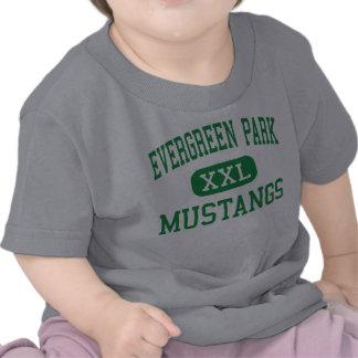 Parque imperecedero - mustangos - parque camiseta