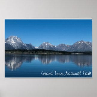 Parque magnífico de la nación de Teton Posters