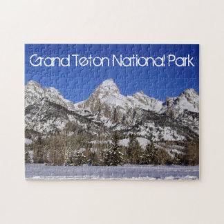 Parque magnífico de Teton Nationa - rompecabezas