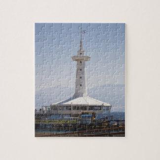 Parque marino subacuático, torre de observación puzzle