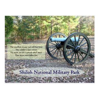 Parque militar nacional de Shiloh Tarjeta Postal