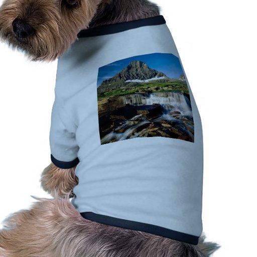 Parque Montana del glaciar de la montaña Camiseta De Perro