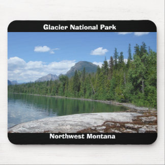 Parque Montana del glaciar Alfombrillas De Raton