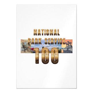 Parque nacional 100 de ABH Invitaciones Magnéticas