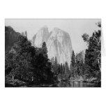 Parque nacional 1866 de Yosemite del ~ del EL Tarjeta De Felicitación